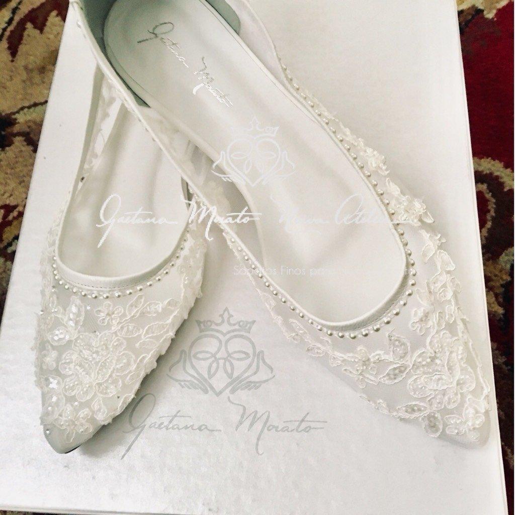 1e05580afe ... Atelier SAPATILHA PIETRA - Gaetana Morato Noiva Atelier - Vestidos e Sapatos  Finos para Noivas
