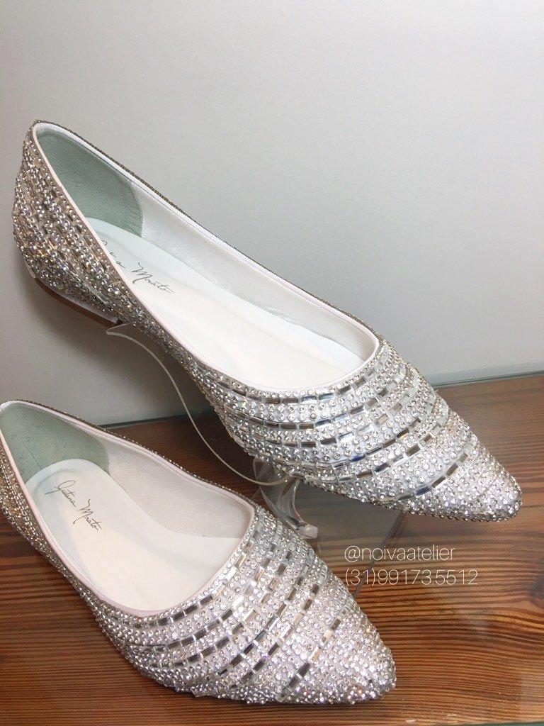 338ed79789 SAPATILHA ESPELHOS - Gaetana Morato Noiva Atelier - Vestidos e Sapatos Finos  para Noivas