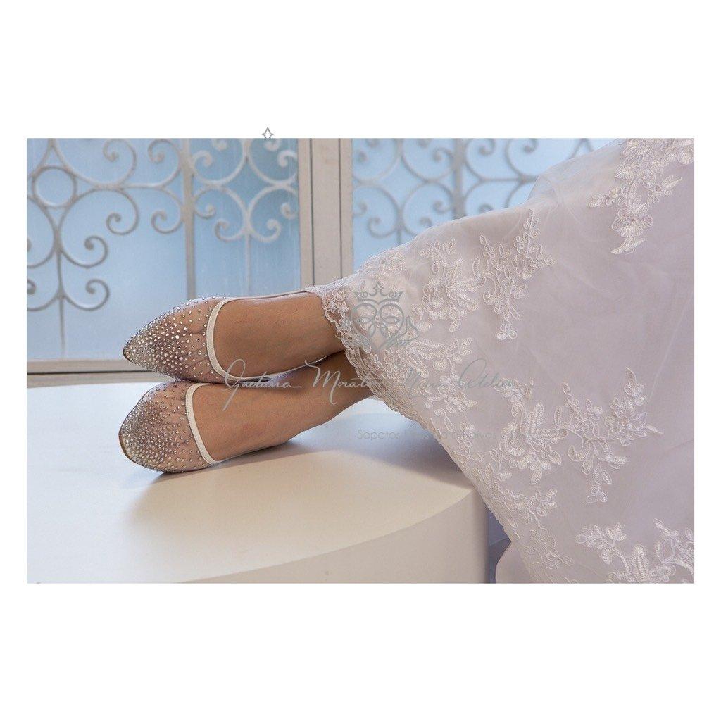 7097637412 ... sapatilha para noivas