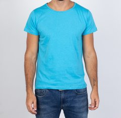 Electric Sky Blue T-Shirt (Slim fit)