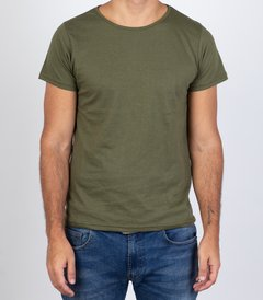 Military Green T-Shirt (Slim fit)