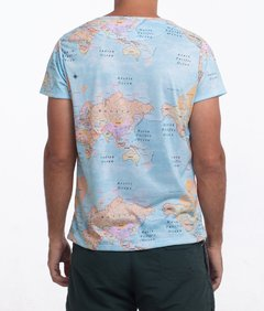 Map T-Shirt na internet