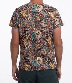 Barroc mosaic T-Shirt en internet