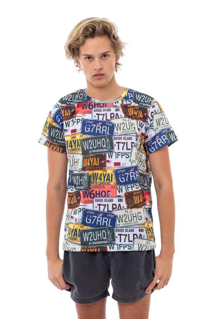 Car Plates T-Shirt