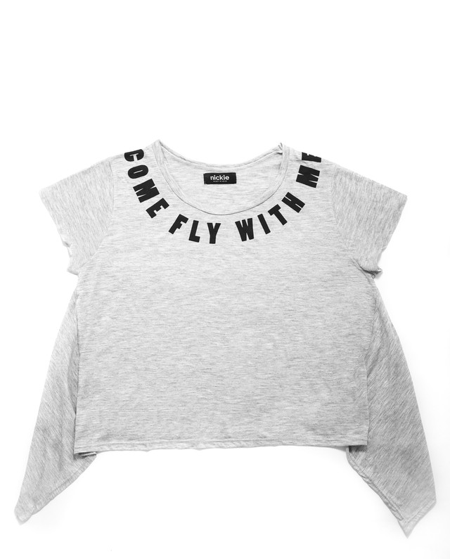 Remera Come fly with me - comprar online