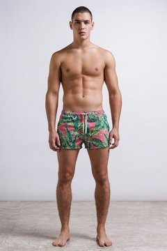 cut short, Short masculino estampado