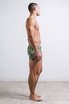 Short masculino estampado, short cut