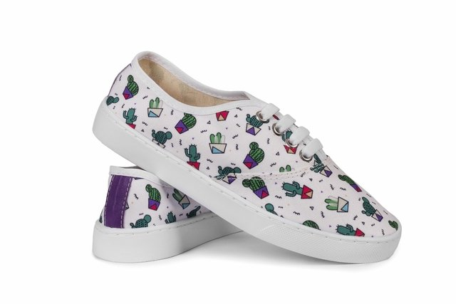 Lovely Cactus - Tenis Rooster al Horno | ZAPATOS 100% COLOMBIANOS