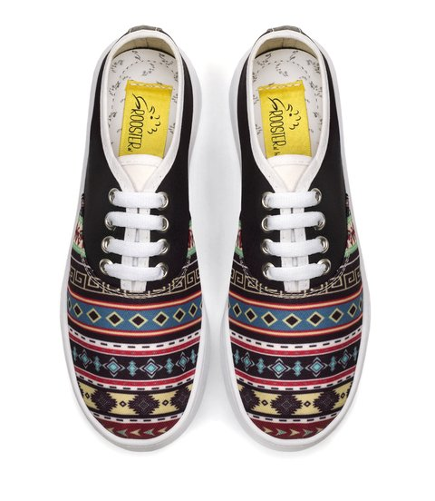 Tenis Black Tribal