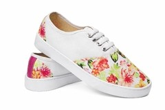 Tenis Floral Deluxe - Tenis Rooster al Horno | ZAPATOS 100% COLOMBIANOS