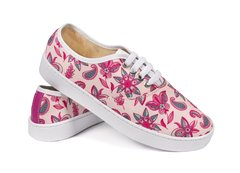 Tenis Flower Pink - Tenis Rooster al Horno | ZAPATOS 100% COLOMBIANOS