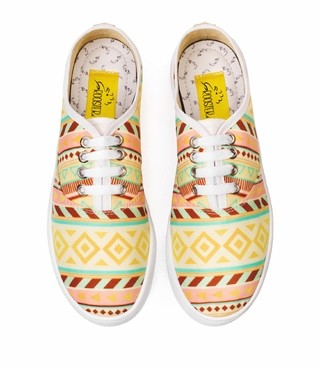 Tenis Golden Tribal