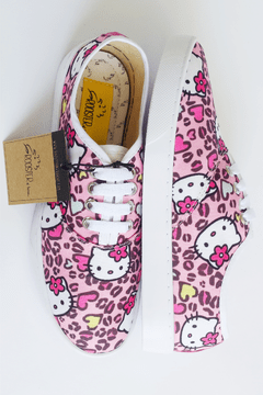 Hello Kitty - Tenis Rooster al Horno | ZAPATOS 100% COLOMBIANOS