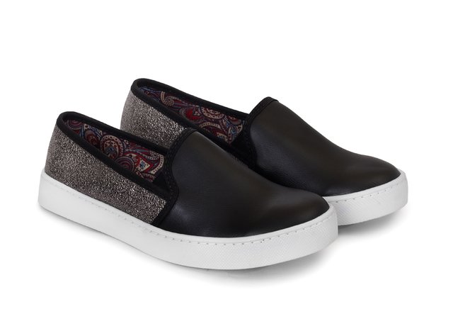 Tenis Slip On Black Shine - Tenis Rooster al Horno | ZAPATOS 100% COLOMBIANOS