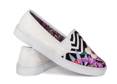 Tenis Slip On Flower Stripes - Tenis Rooster al Horno | ZAPATOS 100% COLOMBIANOS
