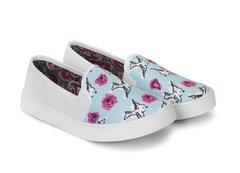 Tenis Slip On Birds and Roses - Tenis Rooster al Horno | ZAPATOS 100% COLOMBIANOS