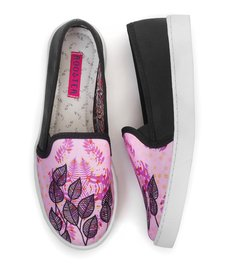Tenis Slip On Pink Wood en internet