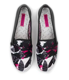 Tenis Slip On Ink Forest