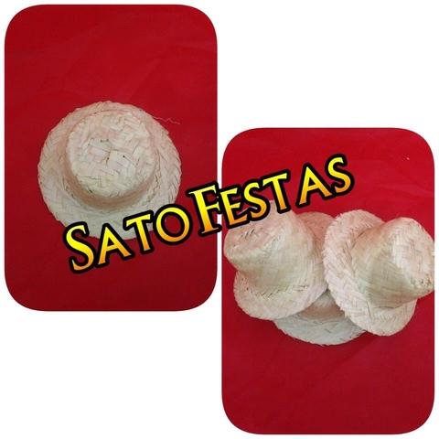 Chapéu de Palha Boneca Pequeno - 05 Unidades 598f514b0c6
