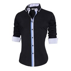 camisa masculina modelo Slim fit