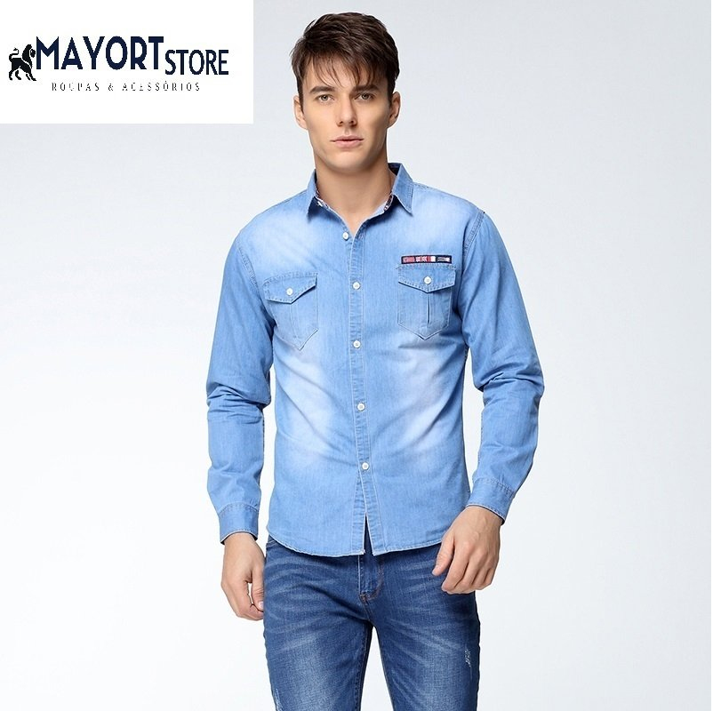 CAMISA SLIM FIT JEANS VMT