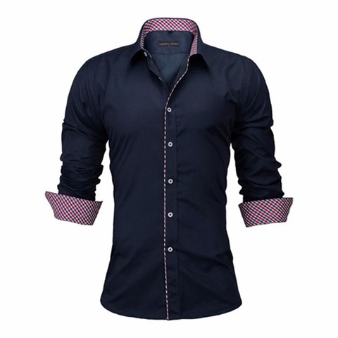 CAMISA UOMO CASUAL SLIM FIT na internet