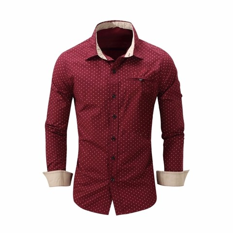 CAMISA SLIM FIT CASUAL HS1638