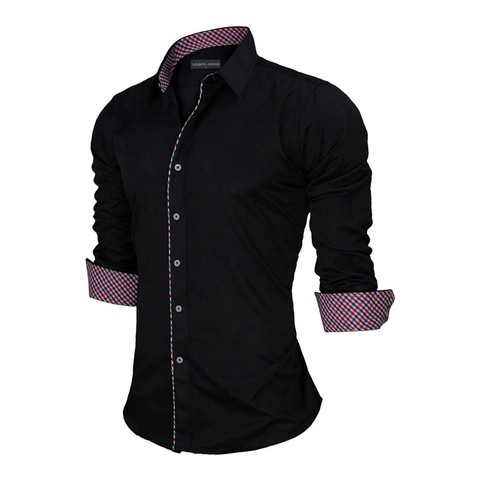 CAMISA UOMO CASUAL SLIM FIT
