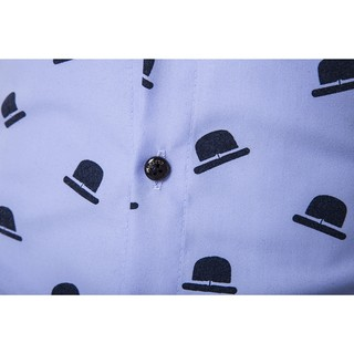 Imagem do CAMISA SLIM FIT ESTAMPADA