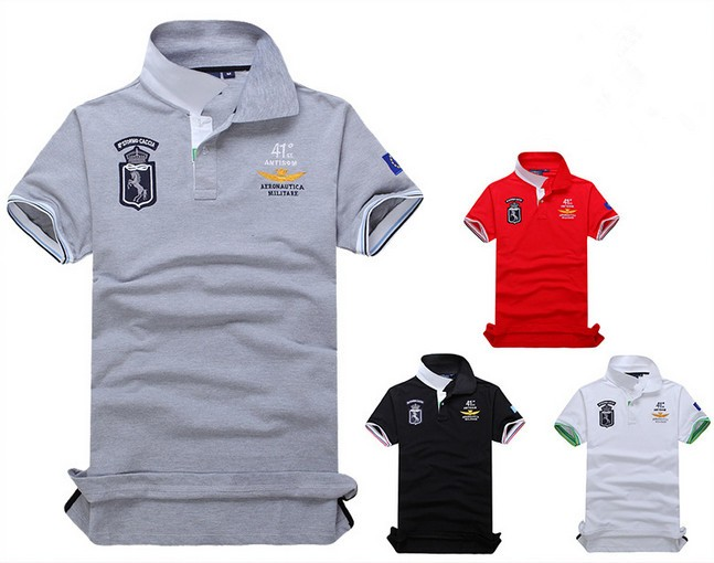 Camisa Polo Masculina Respirável