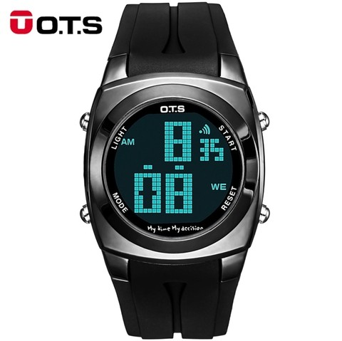 Relógio Original OTS Digital Cool Men Sport LED