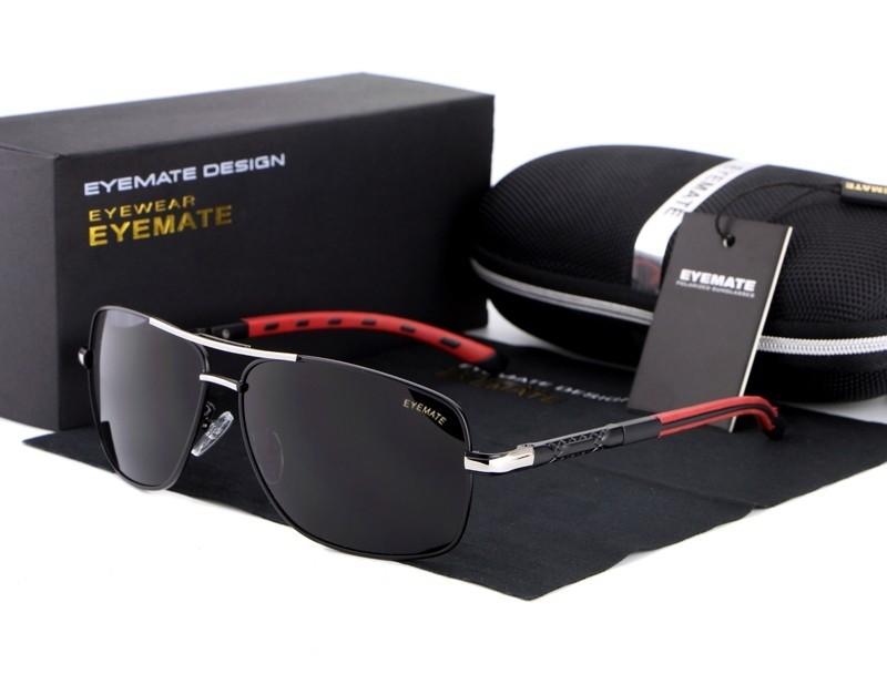 1d23e41a1891d Óculos de sol masculino lentes polarizadas alta qualidade