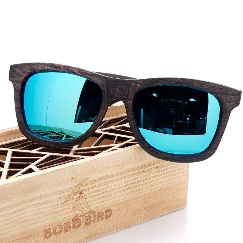 c12607313 Óculos de Sol Unissex de Madeira Original lente Polarizada
