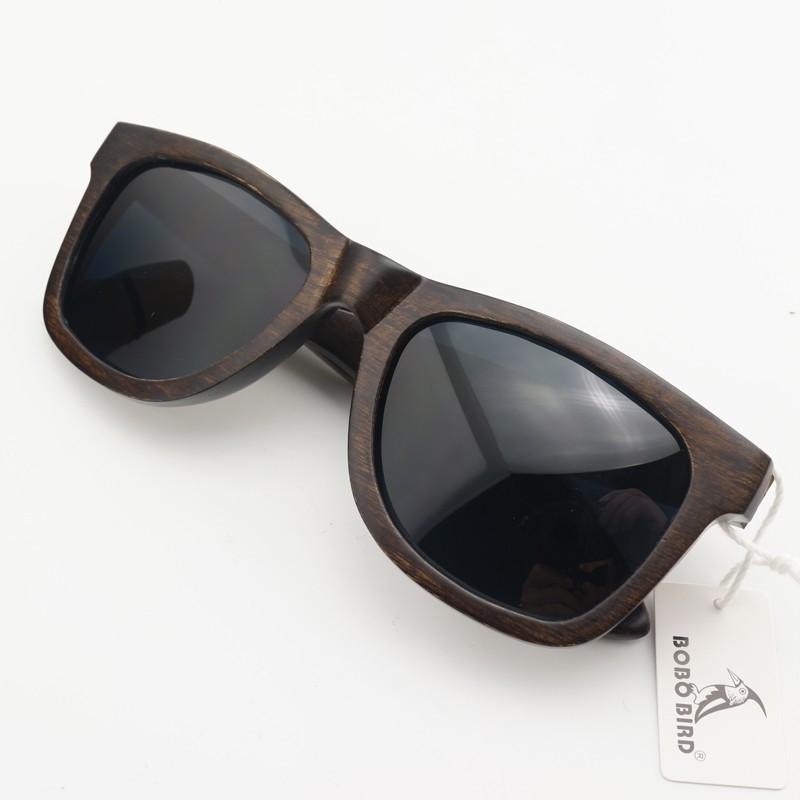 7b9d51b3c3fd9 Óculos de Sol Unissex de Madeira Original lente Polarizada