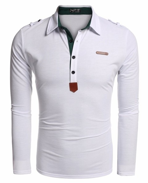CAMISA POLO  SLIM FIT MANGAS LONGAS na internet