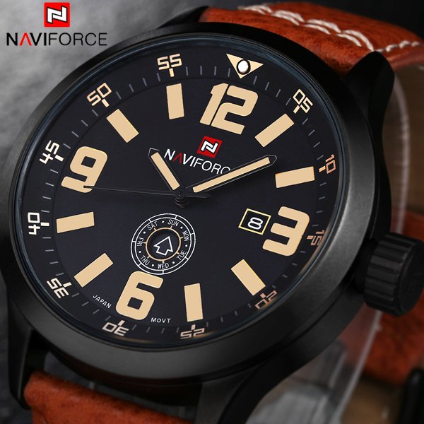 Relogio masculino Luxury NAVIFORCE