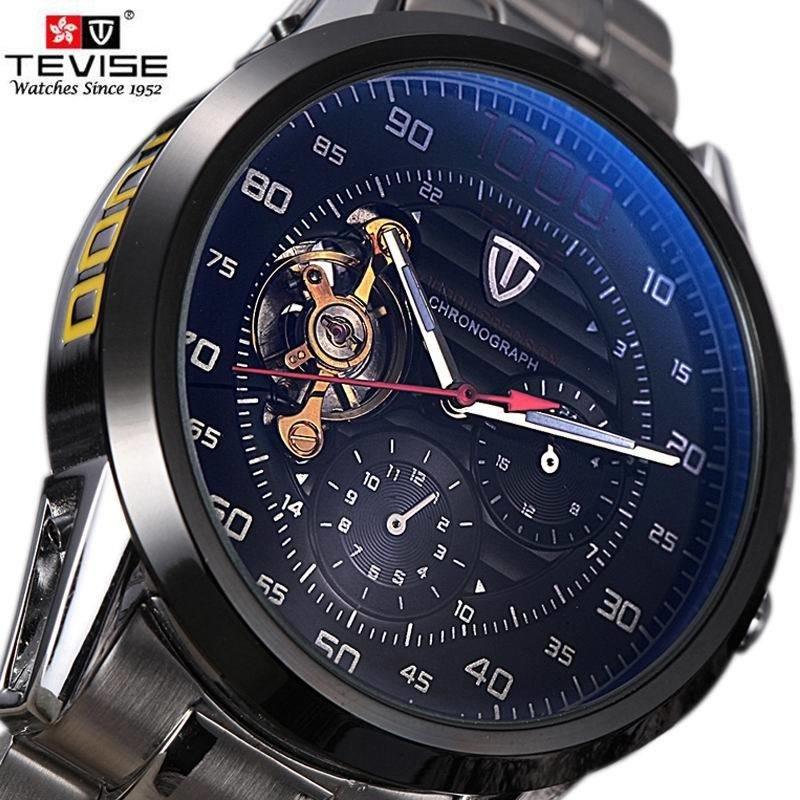 22c4a3ee95b Lançamento Relógio Automático Masculino - Frete Grátis