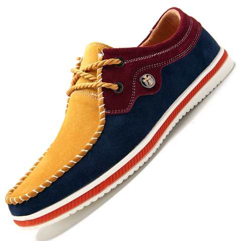 Sapato Casual Masculino Mixer Color