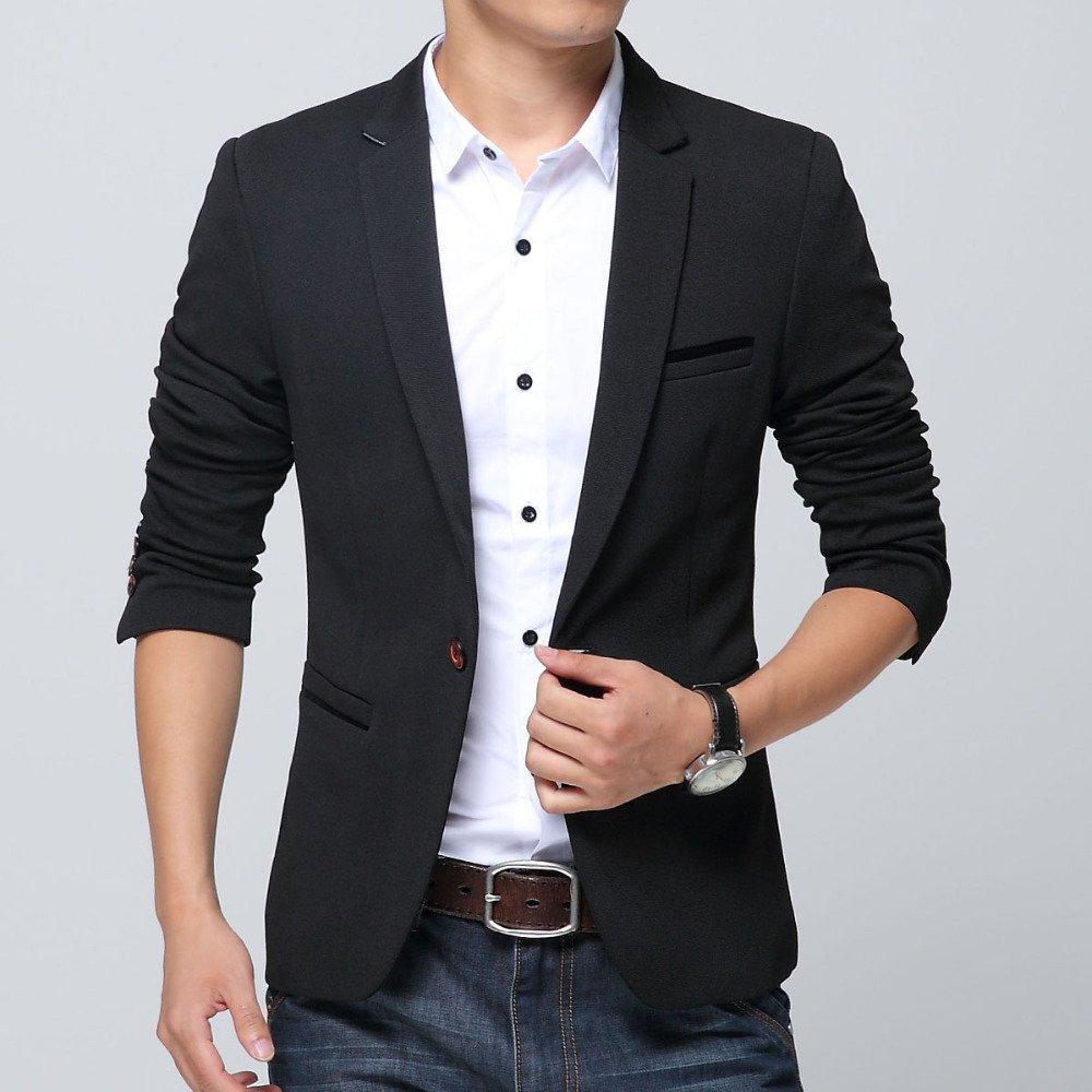 blazer masculino slim fit frete gr tis. Black Bedroom Furniture Sets. Home Design Ideas