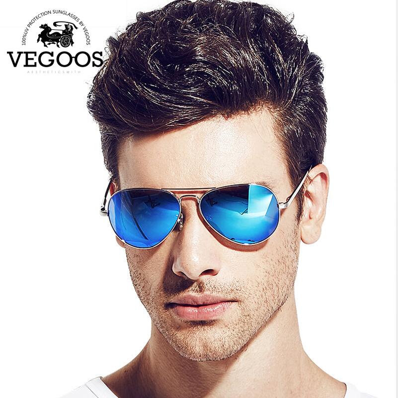 c9ee58f6d51b9 Óculos de sol masculino aviador lentes espelhadas