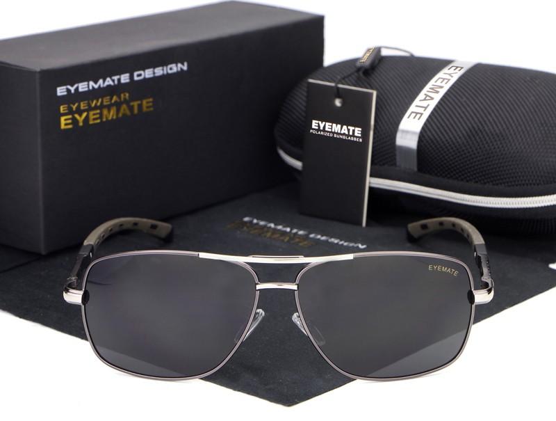 Marca  Eyemate Original Importado Lentes Polarizadas Proteção UV400 Armação  em liga b8a71e71ed
