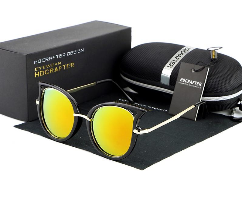Óculos de sol feminino design olho de gato retrô - Qualidade original marca  Importada Mais Detalhes Marca HDCRAFTER Lentes Polarizada 862dd0d9de