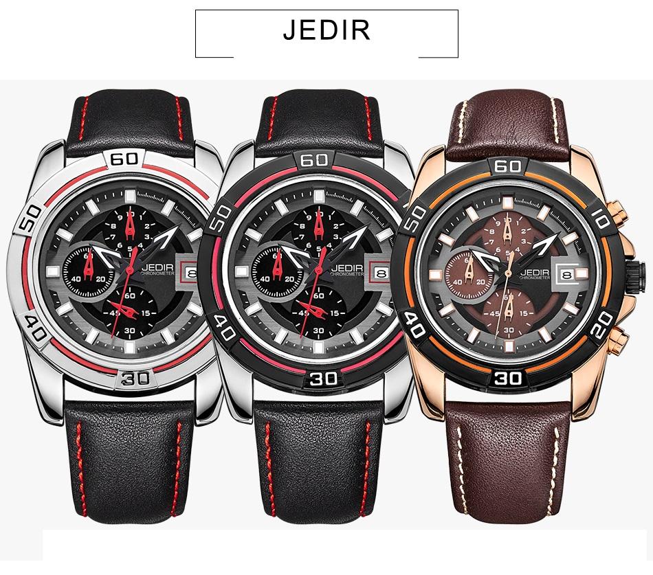 Relógio JEDIR Oferta - Frete Grátis cb82ce6a1e