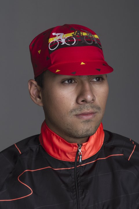 Gorra Ciclismo Triamen Red