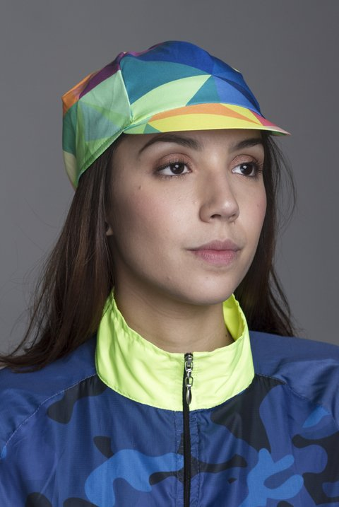 Gorra Ciclismo Triangle Colors