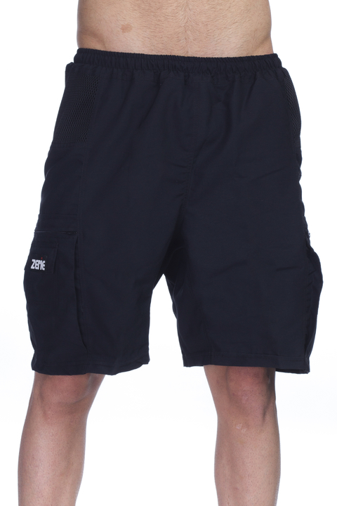 PANTALONETA MOUNTAIN BIKE NEGRA