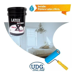 Pintura Latex Interior 20 Litros Blanco en internet