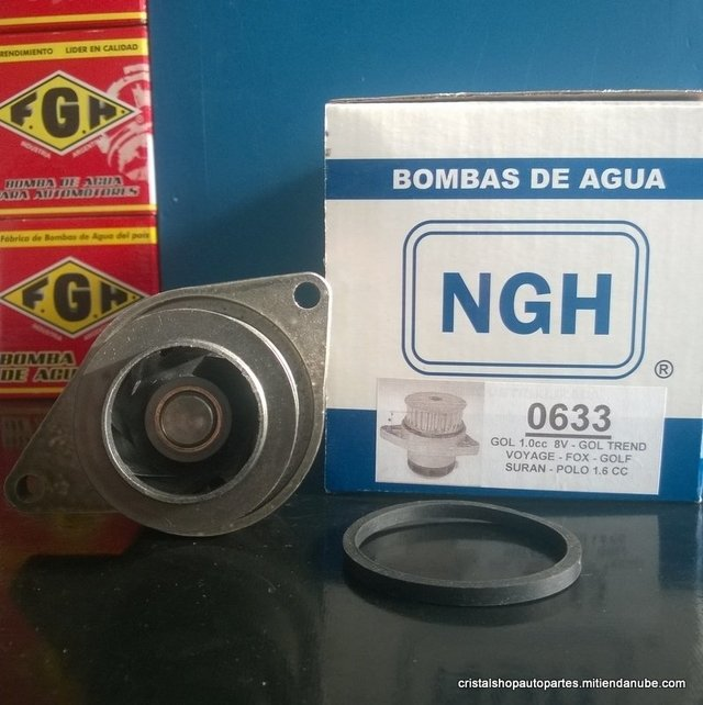 Bomba de agua NGH. Vw Gol/GolF/Fox.
