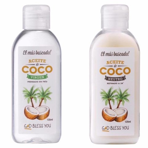 Aceite de coco neutro x125cc - God Bless You