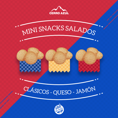 Galletitas Snacks Salados - CERRO AZUL